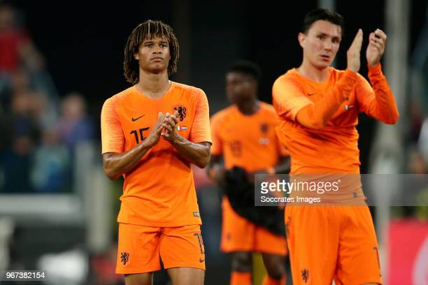 Nathan Ake of Holland during the International Friendly match between Italy v Holland at the Allianz Stadium on June 4 2018 in Turin Italy