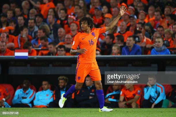 Nathan Ake of the Netherlands in action during the FIFA 2018 World Cup Qualifier between the Netherlands and Luxembourg held at De Kuip or Stadion...