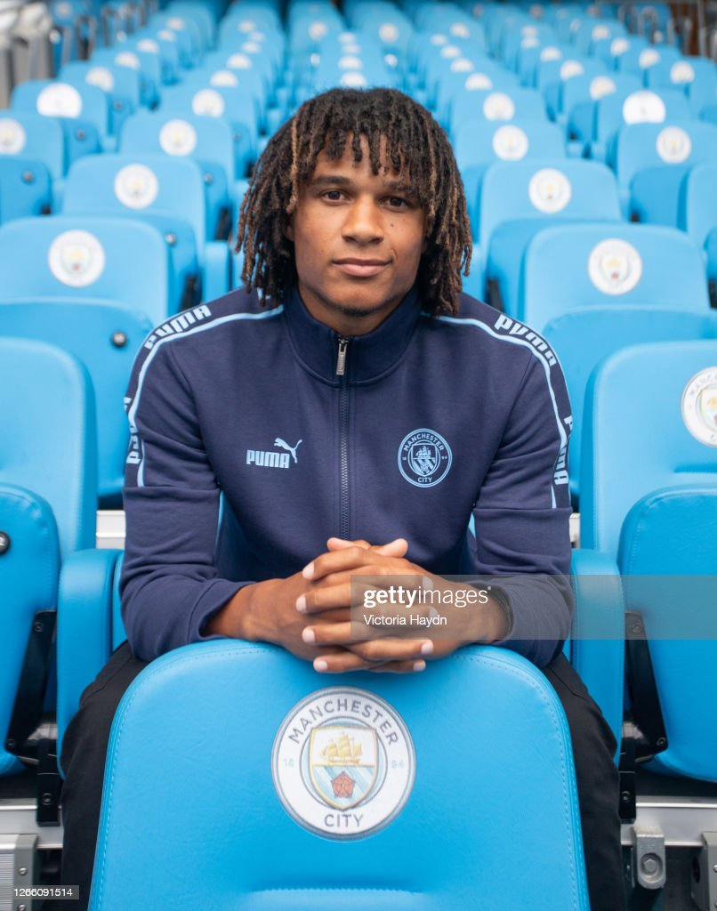 Manchester City Unveil New Signing Nathan Ake : News Photo