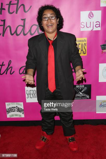 Nathan Arenas attends Jillian Estell's red carpet birthday party with a purpose benefitting The Celiac Disease Foundation on June 15 2018 in Los...