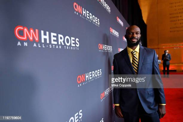Nathan Bain attends CNN Heroes at the American Museum of Natural History on December 08, 2019 in New York City.