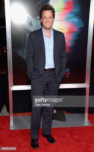 Nathan Barr attends the premiere of Columbia Pictures' 'Flatliners' at The Theatre at Ace Hotel on September 27 2017 in Los Angeles California