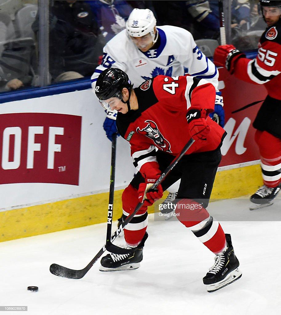 Binghamton Devils v Toronto Marlies : News Photo