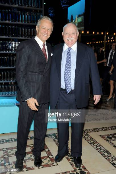 Nathan Bernstein and Michael Steinhardt attend AMERICAN FRIENDS OF THE ISRAEL MUSEUM Celebrates A New Beginning at Cipriani 42nd St on October 25...