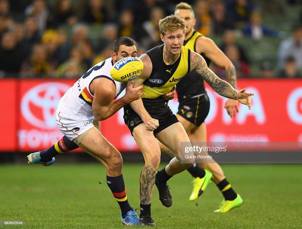 AFL Rd 16 - Richmond v Adelaide : News Photo