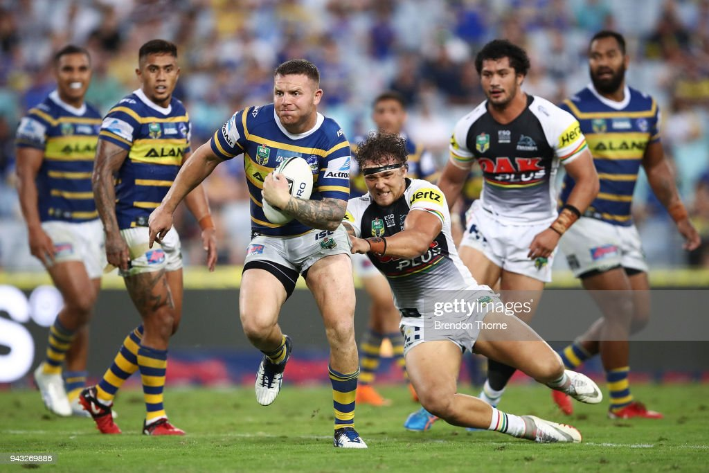 NRL Rd 5 - Eels v Panthers : News Photo