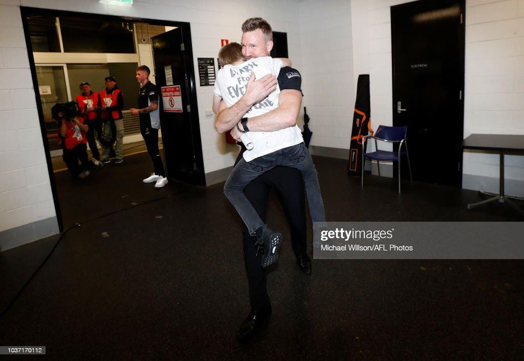 AFL Preliminary Final - Richmond v Collingwood : News Photo
