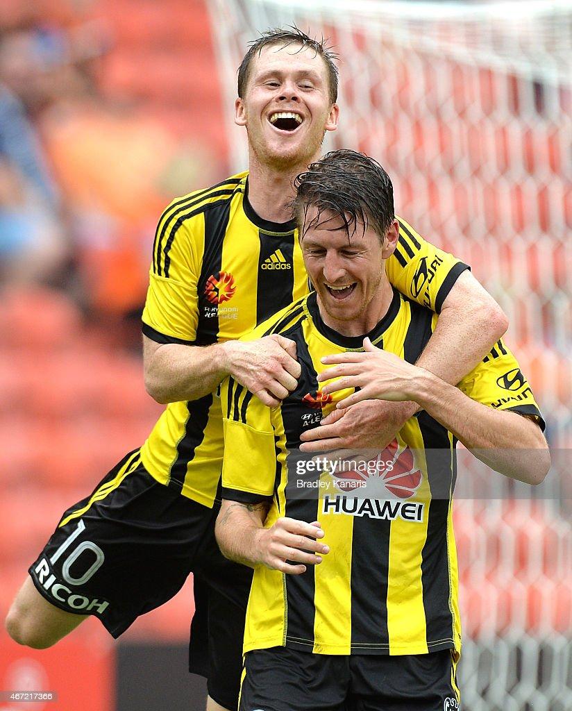 A-League Rd 22 - Brisbane v Wellington