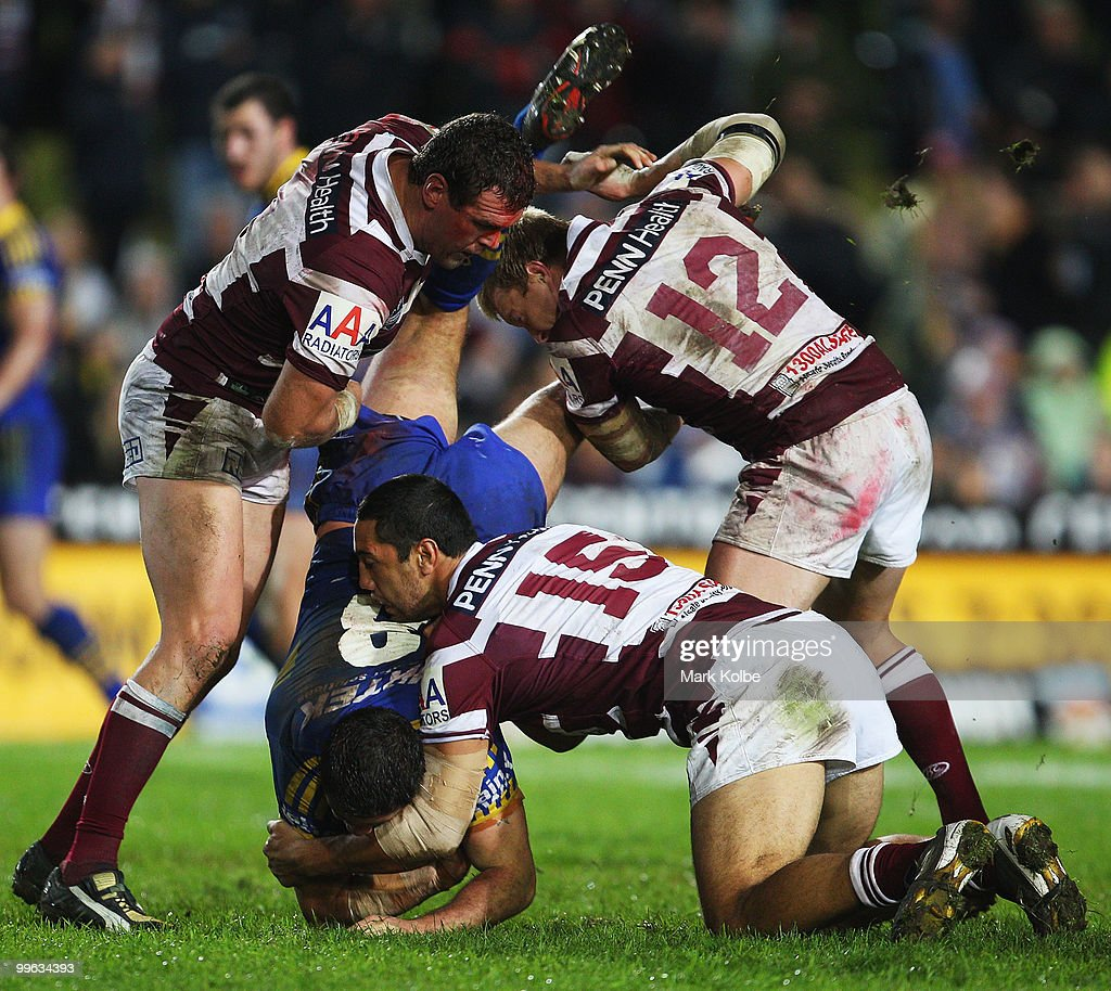 NRL Rd 10 - Sea Eagles v Eels
