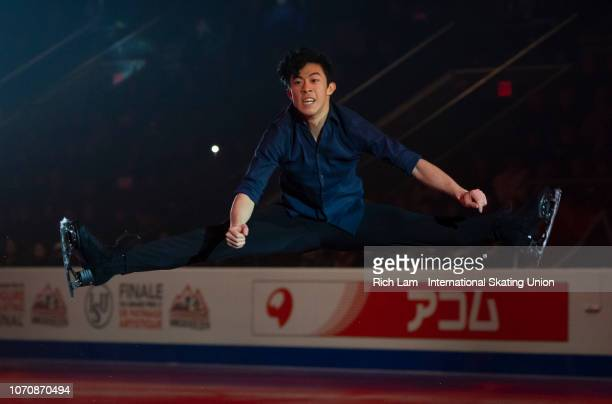 Nathan Chen of the United States performs at the Gala Performance on December 2018 at the ISU Junior Senior Grand Prix of Figure Skating Final in...
