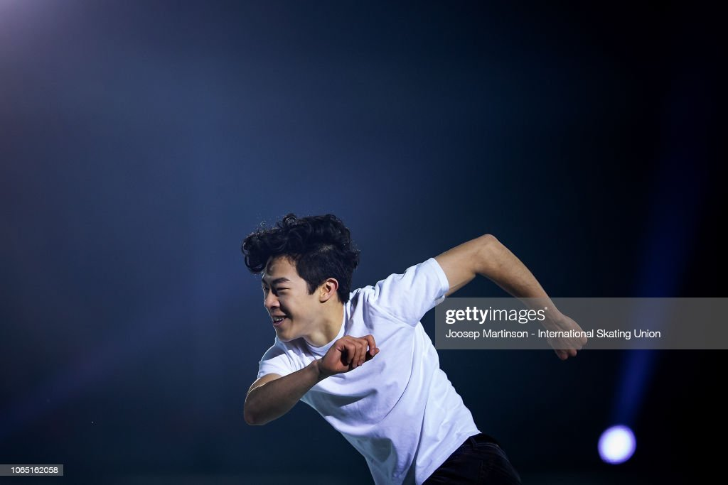 ISU Grand Prix of Figure Skating Internationaux de France : News Photo