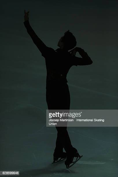 Nathan Chen of United States competes during Senior Men's Short Program on day one of the ISU Junior and Senior Grand Prix of Figure Skating Final at...