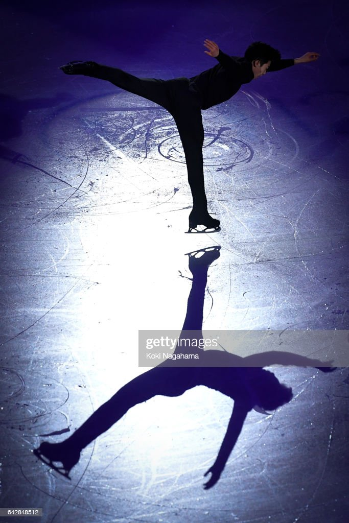 Nathan Chen of United States performs in the Exhibition program during ISU Four Continents Figure Skating Championships - Gangneung -Test Event For PyeongChang 2018 at Gangneung Ice Arena on February 19, 2017 in Gangneung, South Korea.