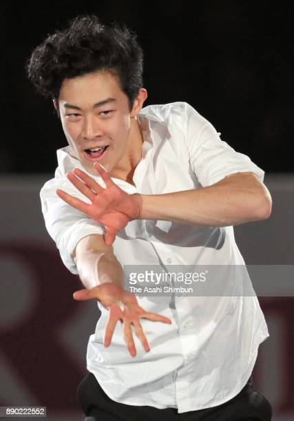 Nathan Chen of United States performs in the gala exhibition during day four of the ISU Junior Senior Grand Prix of Figure Skating Final at Nippon...