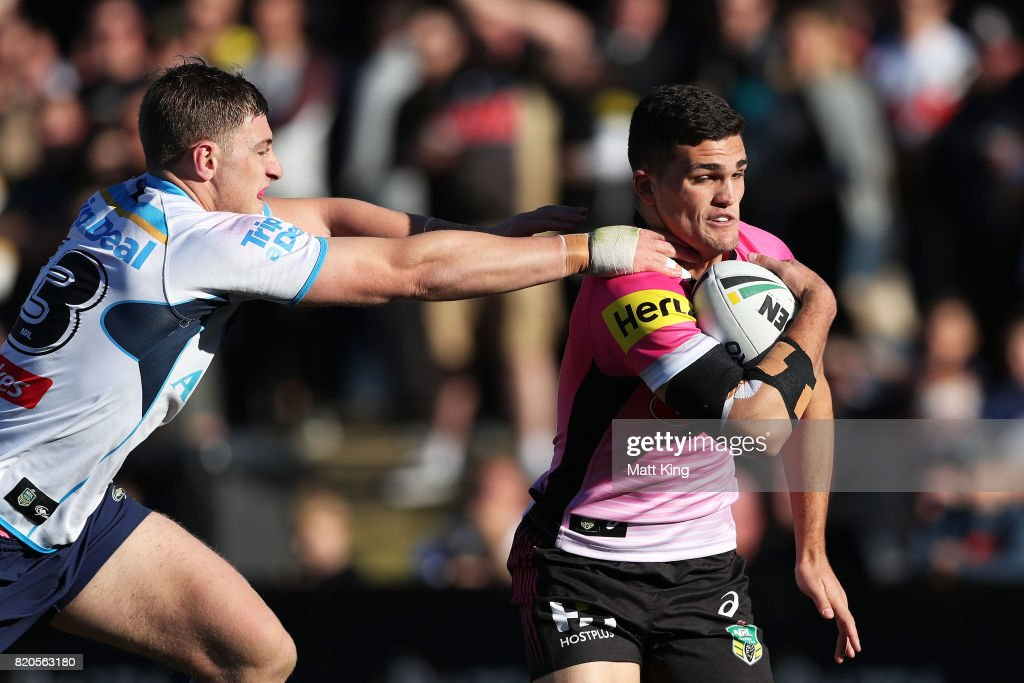 NRL Rd 20 - Panthers v Titans : News Photo