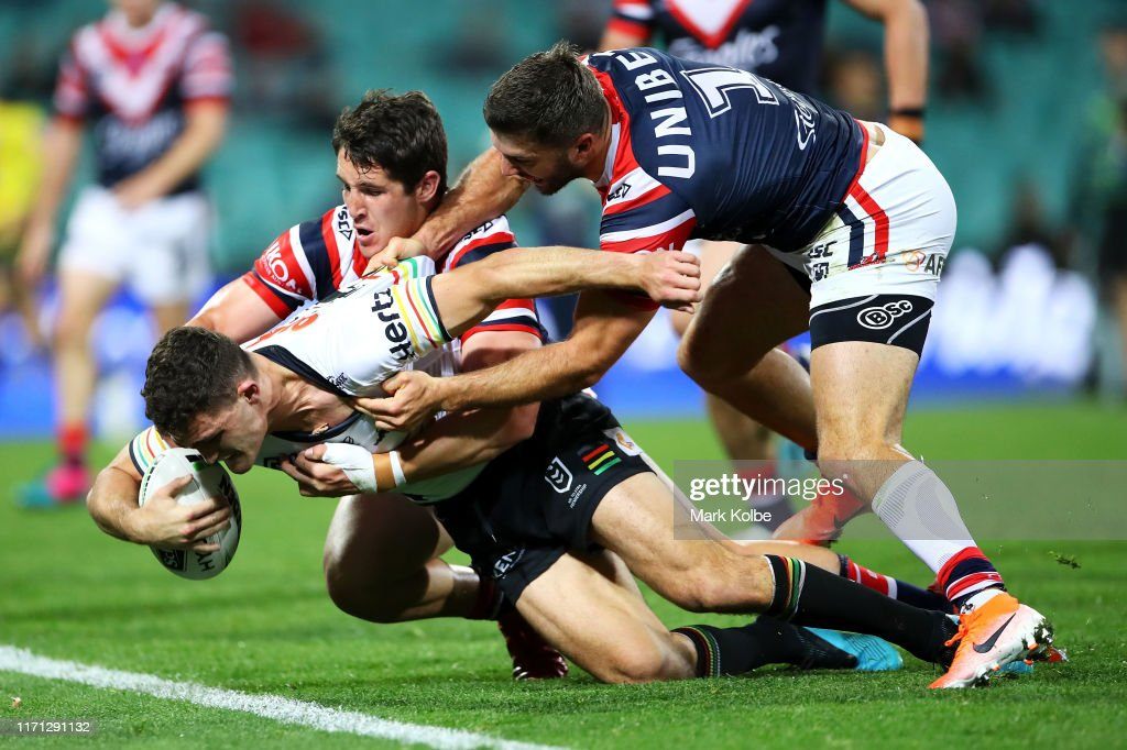 NRL Rd 24 - Roosters v Panthers : News Photo