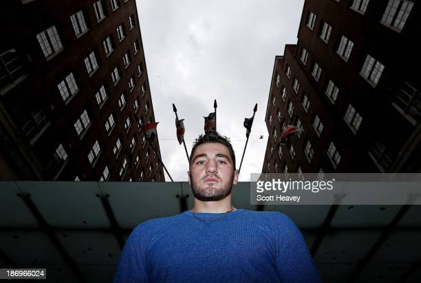 Nathan Cleverly attends a press conference to announce his debut as a Cruiserweight against Australian Daniel Ammann on November 5, 2013 in London,...
