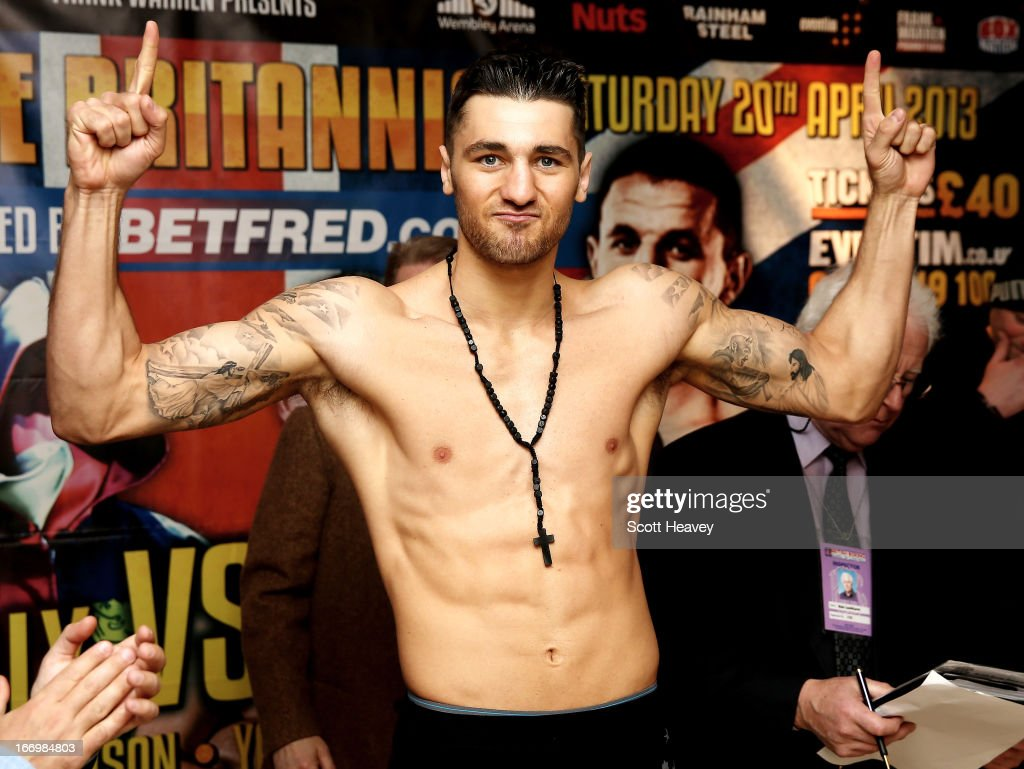 Nathan Cleverly v Robin Krasniqi Weigh-In