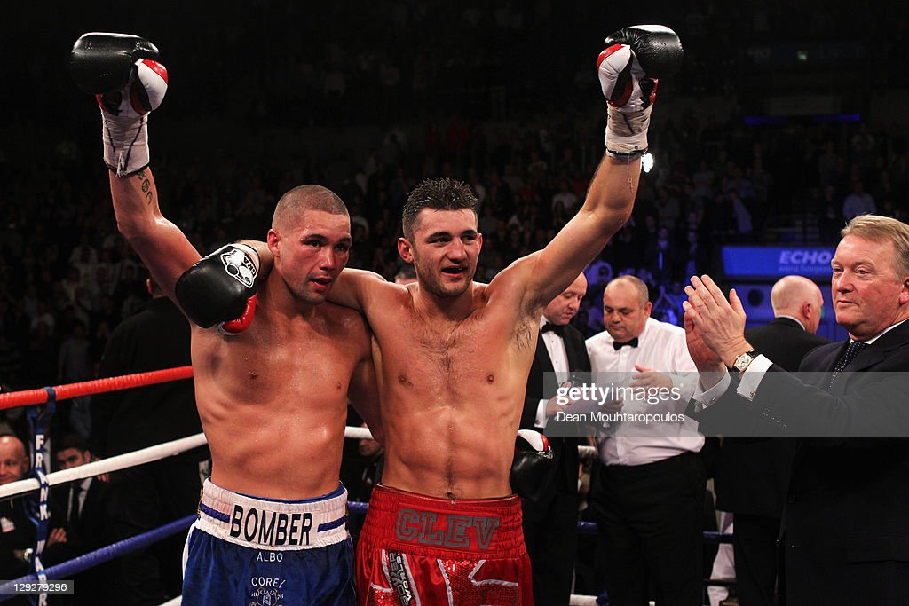 Nathan Cleverly v Tony Bellew - WBO Light-Heavyweight Title Fight : News Photo