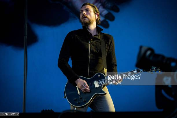 Nathan Connolly of Snow Patrol performing live at Pinkpop Festival 2018 in Landgraaf Netherlands on 15 June 2018 In 2018 Pinkpop will take place on...