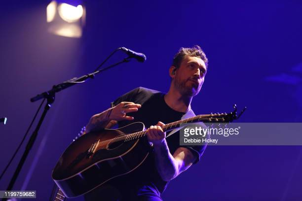 Nathan Connolly of Snow Patrol performs at Olympia Theatre on January 15, 2020 in Dublin, Ireland.