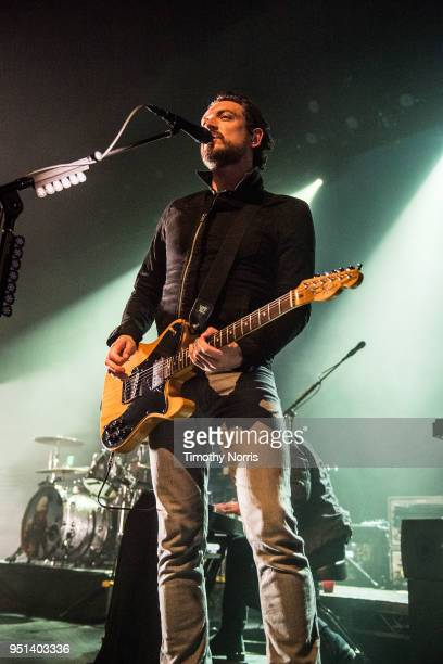 Nathan Connolly of Snow Patrol performs at The Fonda Theatre on April 25 2018 in Los Angeles California