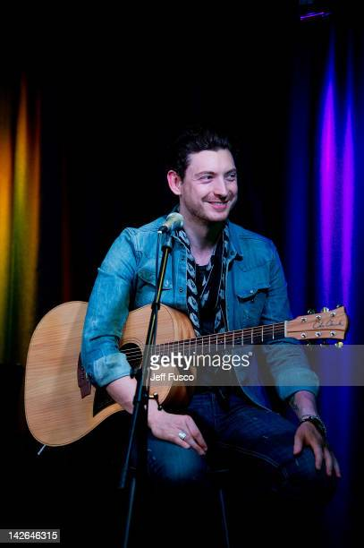 Nathan Connolly of Snow Patrol performs at the Radio 1045 iHeart Performance Theater on April 10 2012 in Bala Cynwyd Pennsylvania