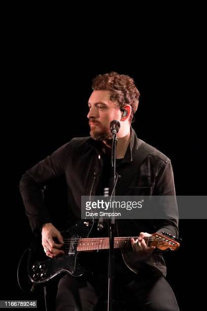 Nathan Connolly of Snow Patrol performs on stage at ASB Theatre Aotea Centre on August 08 2019 in Auckland New Zealand