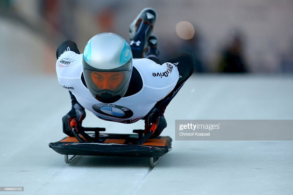 BMW IBSF Bob & Skeleton Worldcup Winterberg - Day 1 : News Photo