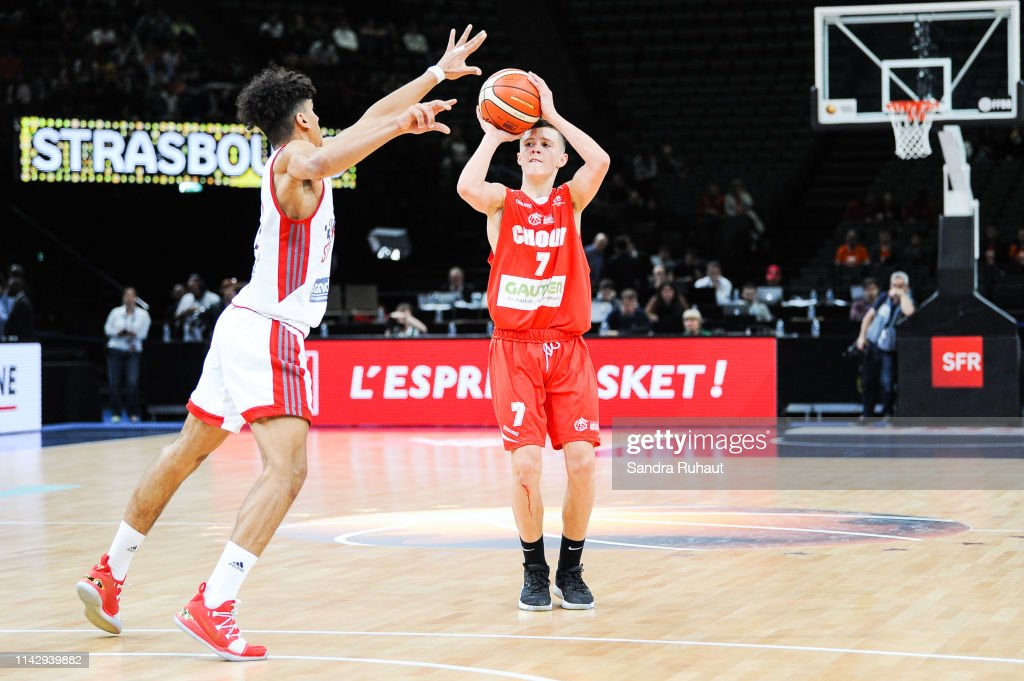 Nathan De Sousa of Cholet during the Men's U17 Final match between... News  Photo - Getty Images