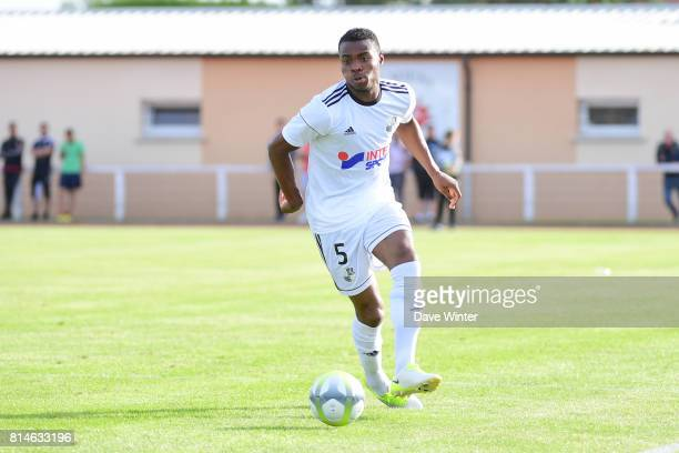 Nathan Dekoke of Amiens during the pre season friendly between Amiens SC and Sporting Charleroi on July 14 2017 in Cambon France