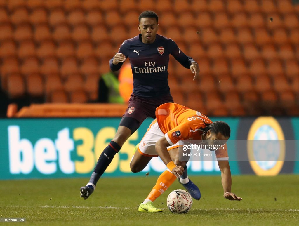 Blackpool v Arsenal - FA Cup Third Round : News Photo