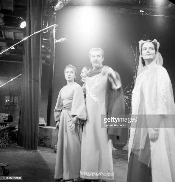 Nathan der Weise, Deutschland 1956, Fernsehfilm, Regie: Karl Heinz Stroux, Darsteller: Käthe Haack, Ina Halley, Leonard Steckel.
