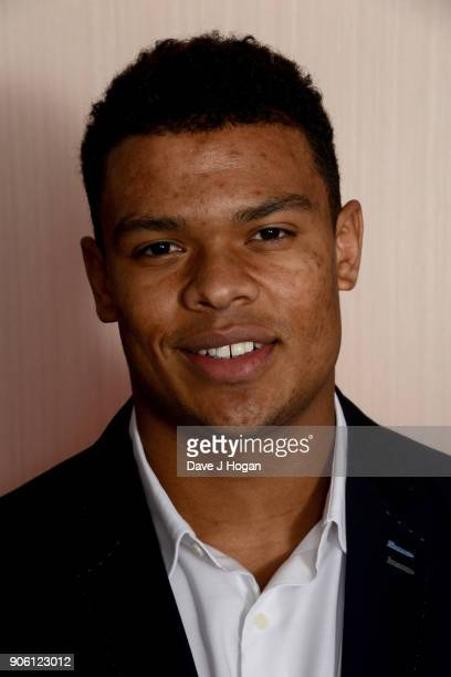 Nathan Earle attends The Nordoff Robbins Six Nations Championship Rugby dinner held at Grosvenor House on January 17 2018 in London England