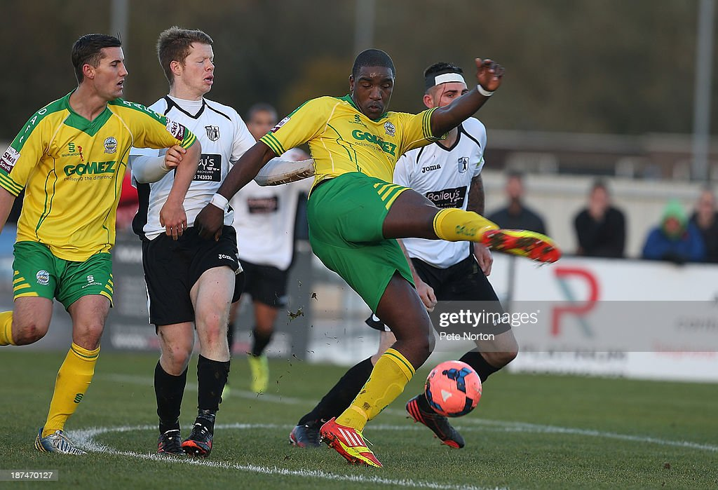 Corby Town v Dover Athletic - FA Cup First Round : News Photo