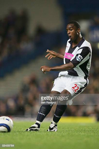 Nathan Ellington of West Bromwich Albion during the FA Barclays Premiership match between Chelsea and West Bromwich Albion at Stamford Bridge on...