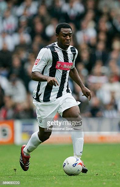 Nathan Ellington of West Bromwich Albion in action during the CocaCola Championship match between West Bromwich Albion and Wolverhampton Wanderers at...