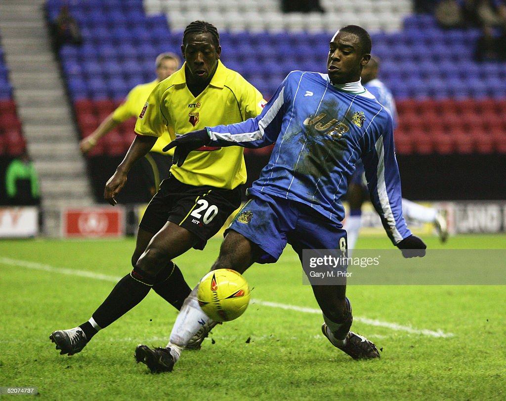 Wigan Athletic v Watford : News Photo