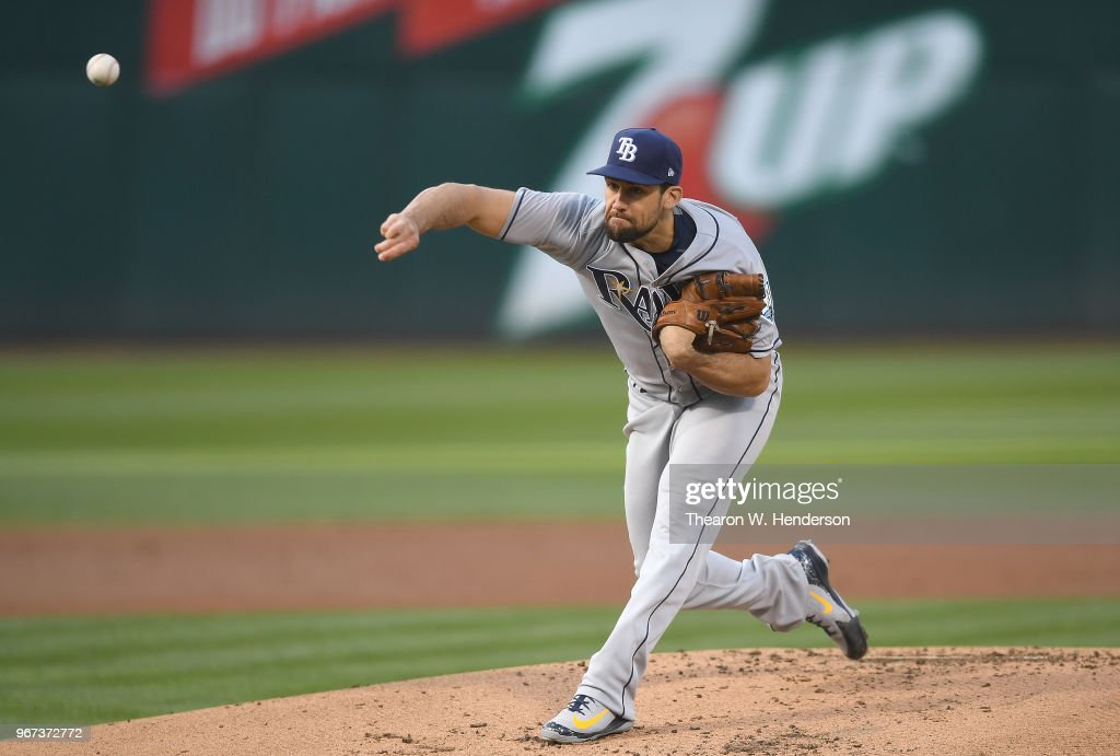 Tampa Bay Rays v Oakland Athletics : Foto jornalística