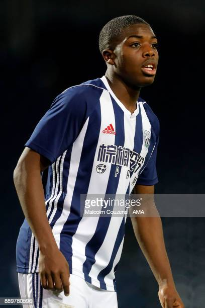 Nathan Ferguson of West Bromwich Albion during the FA Youth Cup game between West Bromwich Albion and Leyton Orient on December 5 2017 in West...
