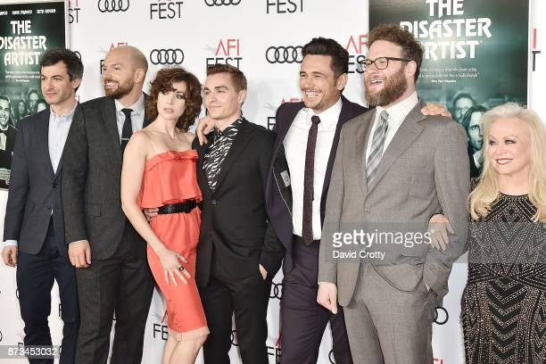 Nathan Fielder Paul Scheer Alison Brie Dave Franco James Franco Seth Rogen and Jacki Weaver attend the AFI FEST 2017 Presented By Audi Screening Of...
