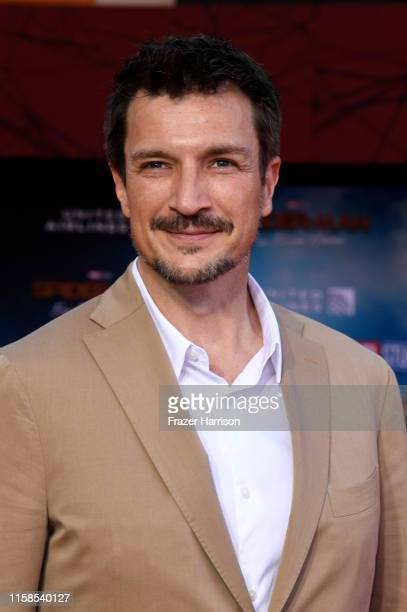 Nathan Fillion attends the Premiere Of Sony Pictures' SpiderMan Far From Home at TCL Chinese Theatre on June 26 2019 in Hollywood California