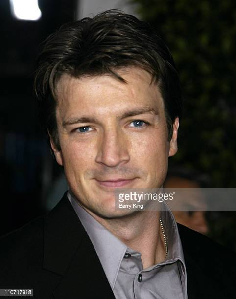 Nathan Fillion during 'Serenity' Los Angeles Premiere at Universal City Cinemas in Universal City California United States