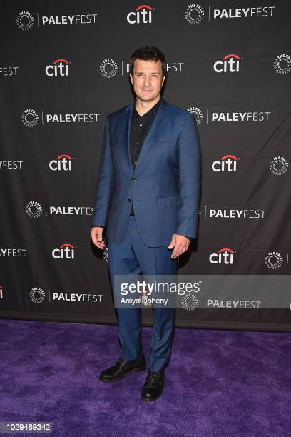 Nathan Fillion from 'The Rookie' attends The Paley Center of Media's 2018 PaleyFest Fall TV Previews ABC at The Paley Center for Media on September 8...