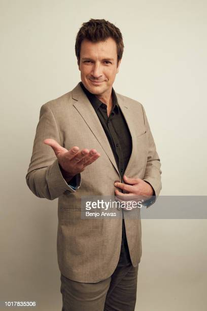 Nathan Fillion of ABC's 'The Rookie' poses for a portrait during the 2018 Summer Television Critics Association Press Tour at The Beverly Hilton...