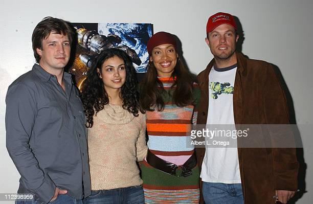 Nathan FillionMorena Baccarin Gina Torres and Adam Baldwin