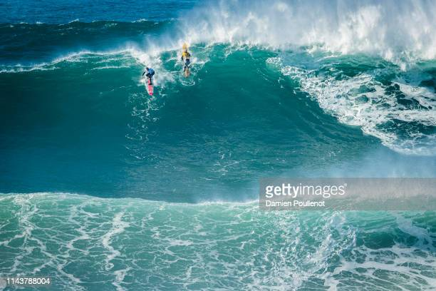 Nathan Florence placed 4 st in SemiFinal 1 of the Nazaré Challenge 2018