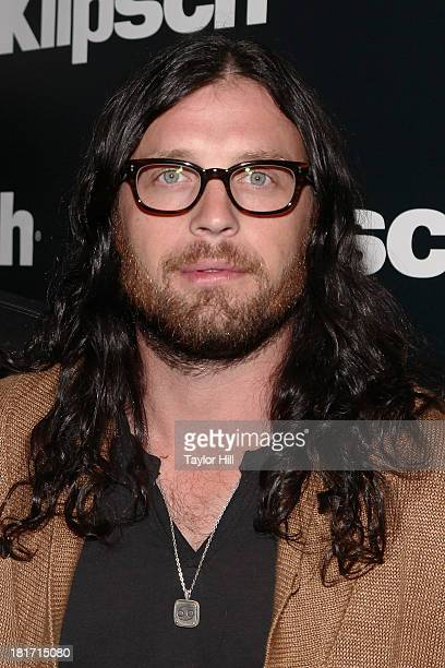 Nathan Followill attends the Klipsch Audio And Kings Of Leon Host 'Mechanical Bull' Listening Party at the Electric Room at Dream Downtown on...
