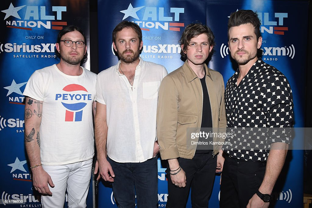 Kings Of Leon Perform Private Concert For SiriusXM At  Poisson Rouge In New York City; Performance Airs Live On SiriusXM's Alt Nation Channel
