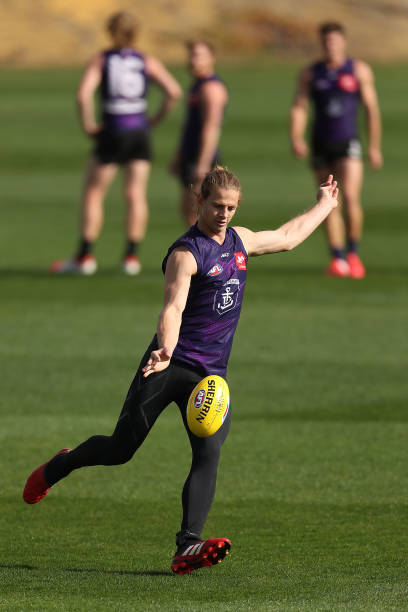 AUS: Fremantle Dockers Training Session